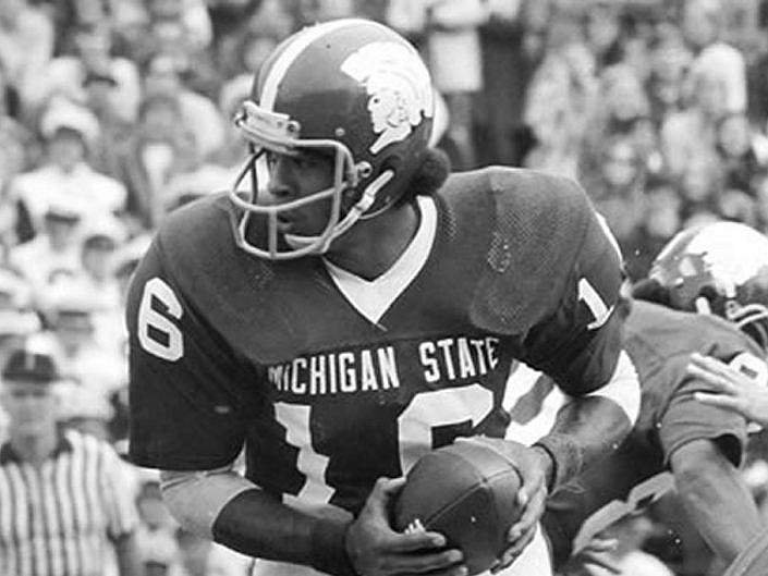 24ad8b33d38 Michigan State Football Jersey & Helmet History